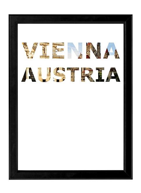 Decarthome Viyana Anı Çerçevesi 30x40 cm Siyah